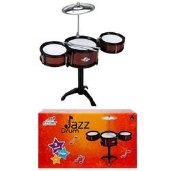 Sunman - Jazz Drum Oyuncak Bateri Davul Seti Orta Boy