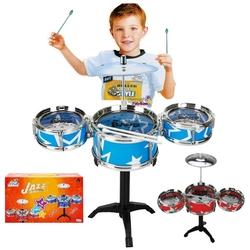 Sunman - Jazz Drum Oyuncak Bateri Seti Orta Boy