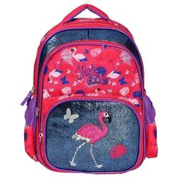 HİLAL - Joy's Cool Flamingo İşlemeli İlkokul Çantası