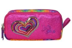 HİLAL - Joy's Cool Pullu Kalp İşlemeli Çift Bölmeli Kalemlik