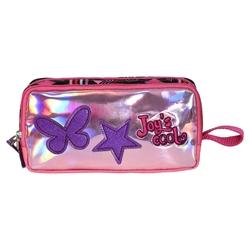 HİLAL - Joy's Cool Pullu Yıldız İşlemeli Çift Bölmeli Kalemlik