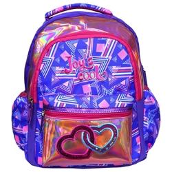 HİLAL - Joy's Cool Zinci Kalp İşlemeli İlkokul Çantası