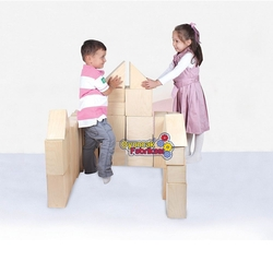Woodoy-Karsan Ahşap - Karsan Woodoy Ahşap Mega Büyük Bloklar 53 Parça