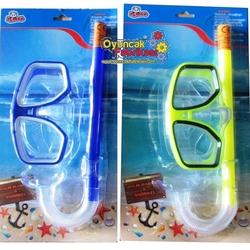 Vardem Oyuncak - Kartela Yüzücü Maskesi Şnorkel Seti