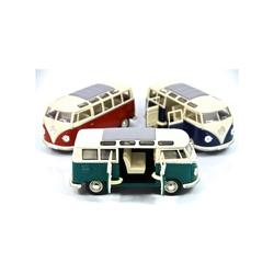 Kinsmart - Kinsmart 1962 Volkswagen Classical Bus 1:24 Metal Araba