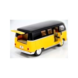 Kinsmart 1962 Volkswagen Classical Bus 1:32 Metal Çek Bırak Araba - Thumbnail