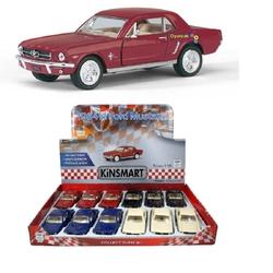 Kinsmart - Kinsmart 1964 1/2 Ford Mustang 1:36 Metal Çek Bırak Araba