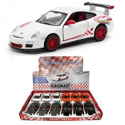 Kinsmart - Kinsmart 2010 Porsche 911 GTR RS 1:36 Metal Çek Bırak Araba