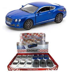 Kinsmart - Kinsmart 2012 Bentley Continental GT Speed 1:38 Metal Çek Bırak Araba