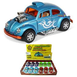 Kinsmart - Kinsmart Metal Çek Bırak Araba Volkswagen Beetle Custom Dragracer