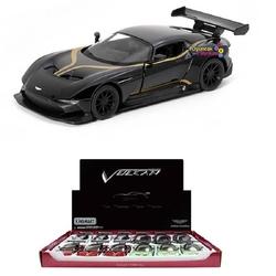 Kinsmart - Kinsmart Metal Çekbırak Araba Aston Martin Vulcan (Desenli)