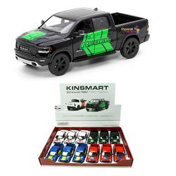 Kinsmart - Kinsmart Oyuncak Metal Çek Bırak Araba 2019 Dodge Ram Rebel 1500 W