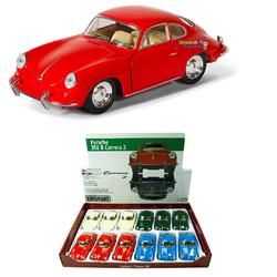 Kinsmart - Kinsmart Oyuncak Metal Çek Bırak Araba Porsche 356 B Carrera 2 KT5398D