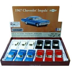 Kinsmart - Kinsmart Oyuncak Metal Çekbırak Araba 1967 Chevrolet İmpala