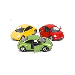 Kinsmart - Kinsmart Volkswagen New Beetle 1:24 Metal Araba