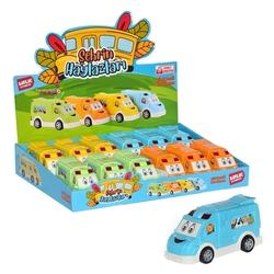 Birlik Oyuncak - Kırılmaz Oyuncak Araba Şehrin Haylazları 12 Cm