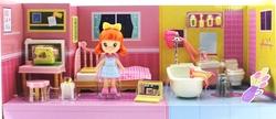 MEGA - Kızıl Saçlı Maylla Mini Yatak Odası ve Banyo Oyun Seti