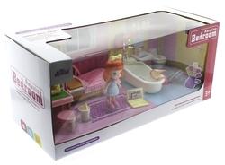 Kızıl Saçlı Maylla Mini Yatak Odası ve Banyo Oyun Seti - Thumbnail