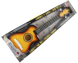 MEGA - Klasik Kahverengi Plastik Gitar 828D-10