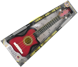 MEGA - Klasik Mor Pşastik Gitar 828D-10