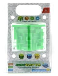 MEGA - Labirent Oyunlu Yeşil Kumbara