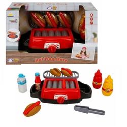 Sunman - Little Chef Oyuncak Sesli ve Işıklı Barbekü Hot Dog Yapımı Oyun Seti