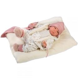 LORENS - Llorens Bej Pijamalı Yeni Doğan Bebek 42 cm