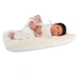 LORENS - Llorens Zıbınlı Saçlı Yeni Doğan Bebek 42 cm