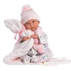 LORENS - Lorens Tulumlumlu ve Atkılı Ağlayan Bebek Mimi 43 cm