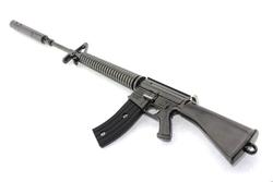 MEGA - M16 PİYADE Metal model Tüfek