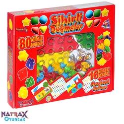 Matrax OyuncakFabrikasi - Matrax Eğitici Oyuncak Sihirli Düğmeler
