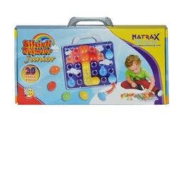 Matrax OyuncakFabrikasi - Matrax Eğitici Oyuncak Sihirli Düğmeler Junior 30 Parça