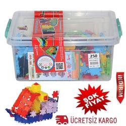 Matrax OyuncakFabrikasi - Matrax Flexy Tangles 250 Parça Plastik Kutuda
