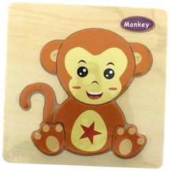 MEGA - Maymun Ahşap Puzzle