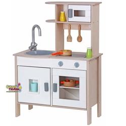 Mentari - Mentari Eğitici Ahşap Küçük Şefin Oyuncak Mutfak Seti MT-3014