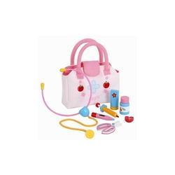 Mentari - Mentari Handy Çantalı Ahşap Oyuncak Doktor Seti MT-3552