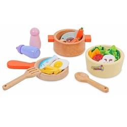 Mentari - Mentari Oyuncak Ahşap Mutfak Seti Aksesuarları MT-3464