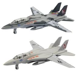 Vardem Oyuncak - Metal Çek Bırak F-14 Savaş Uçağı Kanat Açıp Kapanır 21 Cm
