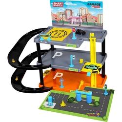 Mgs Oyuncak - Mgs Smart Wheels 3 Katlı Oyuncak Otopark Seti