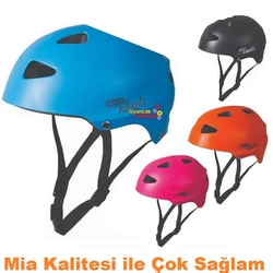 Furkan Toys - Mia Cool Wheels Bisiklet Paten Kaykay Koruma Kaskı Kemik