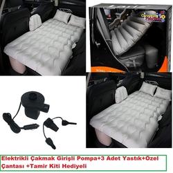 Kızılkaya Oyuncak - Miajima Araba Araç içi Şişme Yatak Elektrikli Çakmak Pompa Hediyeli