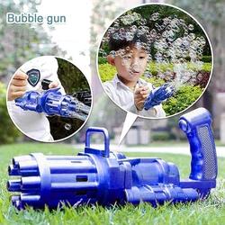 Birlik Oyuncak - Miajima Bubble Gun Pilli Otomatik Oyuncak Baloncuk Tabancası