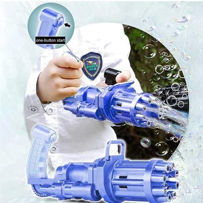 Miajima Bubble Gun Pilli Otomatik Oyuncak Baloncuk Tabancası