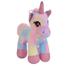 Selay - Miajima Oyuncak Gökkuşağı Unicorn Pony At 15 Cm