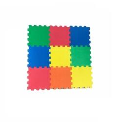 Miajima - Miajima Yer Korosu 9 Parça Oyun Matı Düz Renkler 10mm