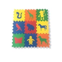 Miajima - Miajima Yer Korosu 9 Parça Oyun Matı Hayvanlar 10mm