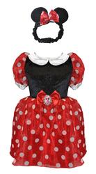 MICKEY MOUSE - Minnie Mouse Kostüm 2-3 Yaş