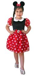 MINNIE - Minnie Mouse Kostüm Yeni 7-9 Yaş