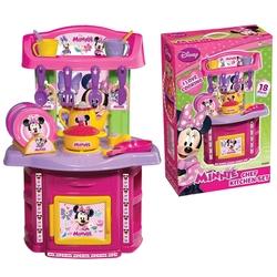 Dede toys - Minnie Mouse Şef Oyuncak Mutfak Seti 18 Parça