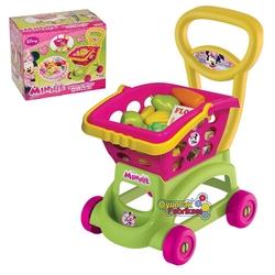 Minnie Mouse Sepetli Market Arabası - Thumbnail
